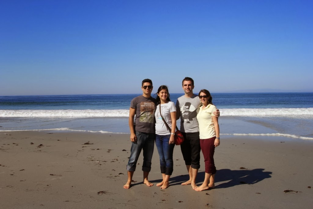 Amerika Kalifornyada sahillerinde hatıra