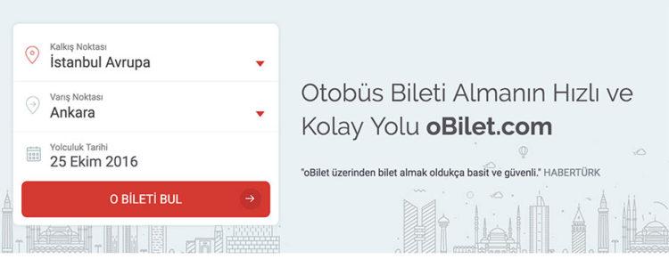 En Seçkin Otobüs Firmaları obilet.com'da