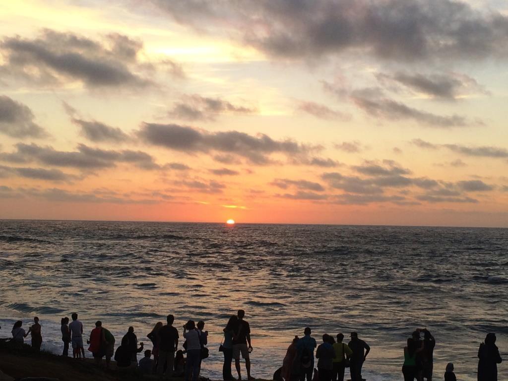 San Diego'da favori aktivitemiz güneşi batırmaktı