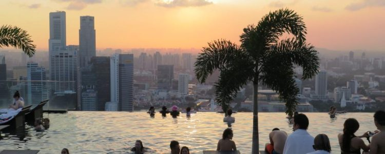 Singapur'da Kaldığımız Oteller ve Sonsuz Havuz