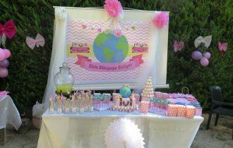 Seyahat Temalı Bebek Geliyor Partisi