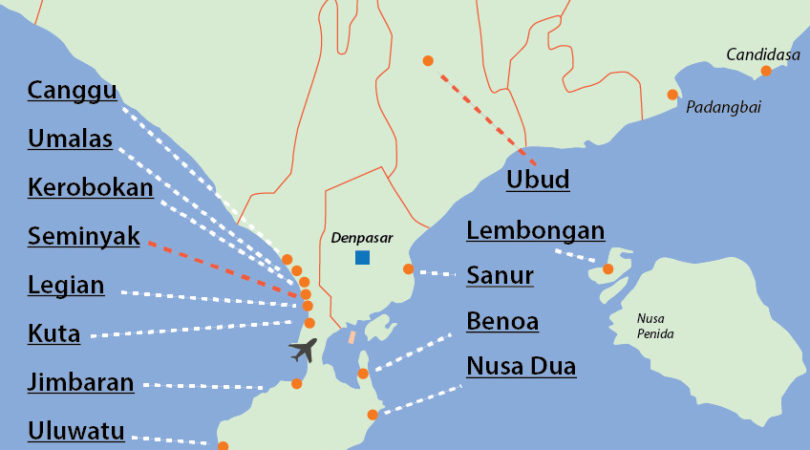 bali-map-tourist-areas-south
